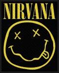 kleiner Aufnäher Nirvana Smiley