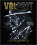 kleiner Aufnäher Volbeat Outlaw Gentleman