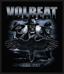 kleiner Aufnäher Volbeat Outlaw Raven