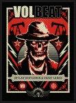 kleiner Aufnäher Volbeat Ghoul Frame