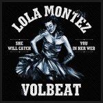 kleiner Aufnäher Volbeat Lola Montez