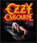 kleiner Aufnäher Ozzy Osbourne Bark at the Moon
