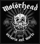 kleiner Aufnäher Motörhead Victoria aut Morte