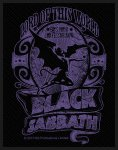 kleiner Aufnäher Black Sabbath Lord of this World