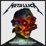 kleiner Aufnäher Metallica Hardwired to Self Destruct