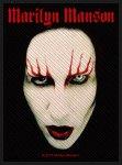 kleiner Aufnäher Marilyn Manson Smells Face