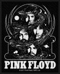 kleiner Aufnäher Pink Floyd Cosmic Faces