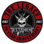 kleiner Aufnäher Testament 30th Anniversary