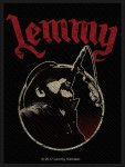 kleiner Aufnäher Motörhead Lemmy Red Logo
