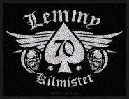 kleiner Aufnäher Motörhead Lemmy Kilmister 70