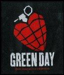 kleiner Aufnäher Green Heart Grenade