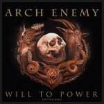 kleiner Aufnäher Arch Enemy Will to Power