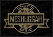 kleiner Aufnäher Meshuggah Knövelmetal Nordland