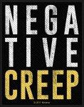 kleiner Aufnäher Nirvana Negative Creep