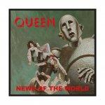 kleiner Aufnäher Queen News of the World