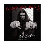 kleiner Aufnäher Metallica Cliff Burton