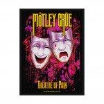 kleiner Aufnäher Mötley Crüe Theater of Pain