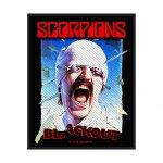 kleiner Aufnäher Scorpions Blackout
