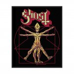 kleiner Aufnäher Ghost The Vitruvian Ghost