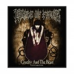 kleiner Aufnäher Cradle of Filth Cruelty and the Beast