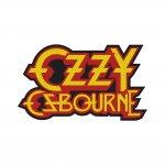 kleiner Aufnäher Ozzy Osbourne Cut Out Logo