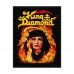 kleiner Aufnäher King Diamond Fatal Portrait