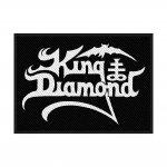 kleiner Aufnäher King Diamond Logo