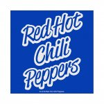 kleiner Aufnäher Red Hot Chili Peppers Blue Logo
