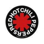 kleiner Aufnäher Red Hot Chili Peppers Logo rund