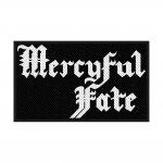 kleiner Aufnäher Mercyful Fate Logo