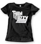 Girlie Shirt Thin Lizzy Classic Logo
