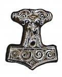 kleiner Aufnäher Symbole Thor Hammer