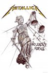 Flagge Metallica and Justice for All
