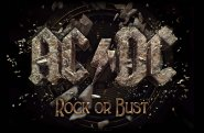 Flagge AC/DC Rock or Bust