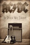 Flagge AC/DC In Rock we Trust