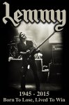 Flagge Motörhead Lemmy Lived to Win