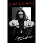 Flagge Metallica Cliff Burton