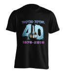 T-Shirt Twisted Sister 40 and F**k it
