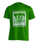 T-Shirt Type O Negative Orchestra of Death ( grün )