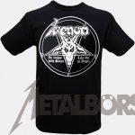T-Shirt Venom In League with Satan