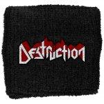 Schweißband Destruction Logo