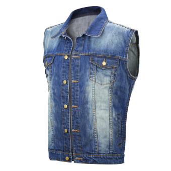 Jeans Weste blau 80's Classic