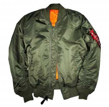 Alpha Industries MA-1 Pilotenjacke sage-green