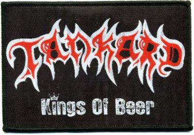 kleiner Aufnäher Tankard Kings of Beer