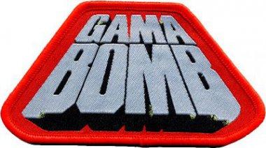 kleiner Aufnäher Gama Bomb Red Logo