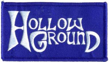 kleiner Aufnäher Hollow Ground Logo