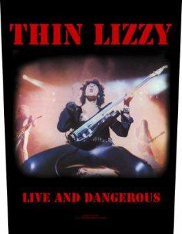 Rückenaufnäher Thin Lizzy Live and Dangerous