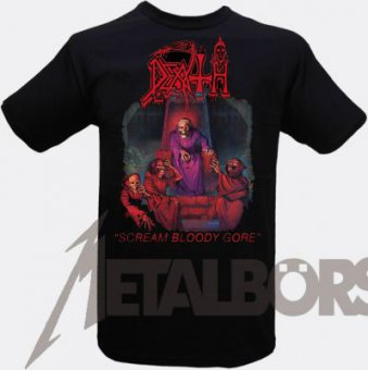 T-Shirt Death Scream Bloody Gore