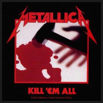 kleiner Aufnäher Metallica Kill 'em all