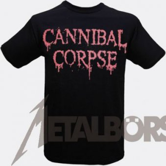 T-Shirt Cannibal Corpse Logo